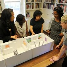 Summer Curatorial Students